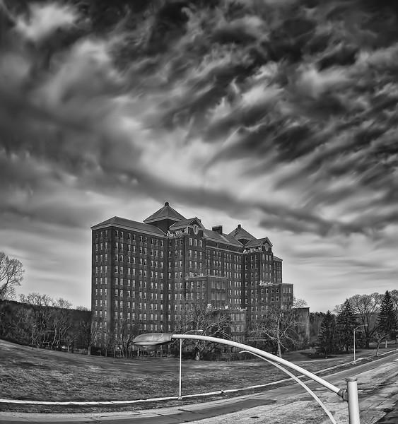 Kings Park Psychiatric Center. Building 93.