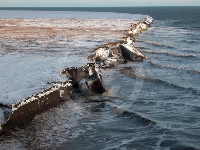 (45) Tuktoyaktuk shoreline