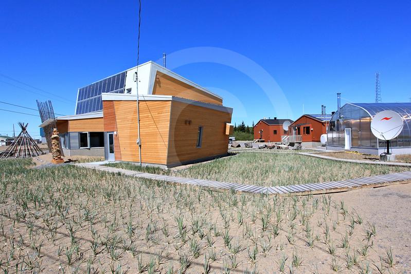 (682) Research station and community centre of the Centre d'études nordiques (CEN) in Kuujjuarapik-Whapmagoostui, Nunavik