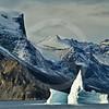 (264) Iceberg drifting in Gibbs Fjord, Baffin Island, Nunavut