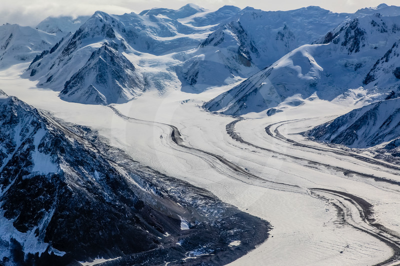 (717) St. Elias Mountain Range, Kluane National Park, Yukon