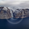 (217) The CCGS Amundsen sailing the majestic Gibbs Fjord, Baffin Island, Nunavut