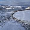 (246) Glaciers flowing into Makinson Inlet, Ellesmere Island, Nunavut