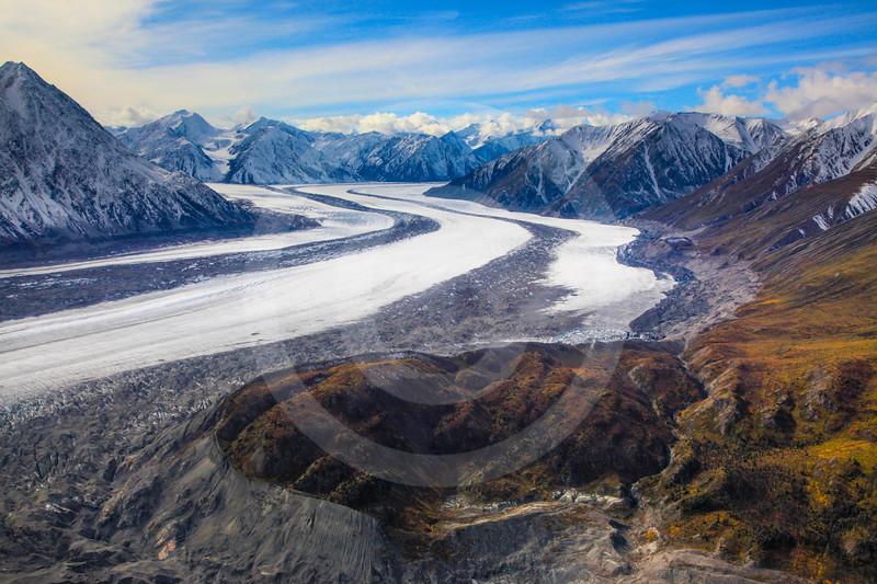 (708) St. Elias Mountain Range, Kluane National Park, Yukon