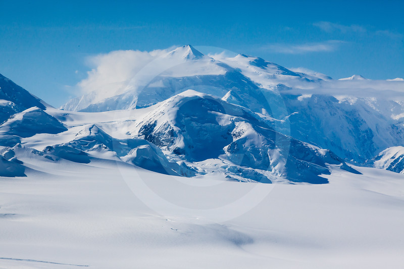 (713) Mt. Logan, St. Elias Mountain Range, Kluane National Park, Yukon