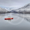(89) CCGS Amundsen in Nachvak fjord, northern Labrador