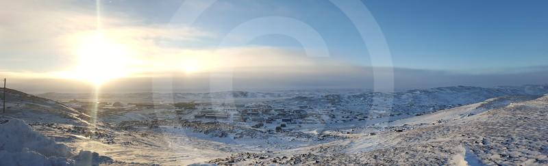 (2005) view from the ridge overlooking Iqaluit
