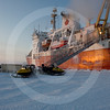 (332) Environmental samples must be retrieved on board the CCGS Amundsen using ski-doos