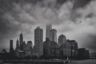 Rainy Day Feeling-Lower Manhattan NYC