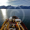 (266) The CCGS Amundsen sailing the majestic Gibbs Fjord, Baffin Island, Nunavut