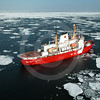 (194) CCGS Pierre Radisson navigating through ice