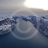 (216) The CCGS Amundsen sailing the majestic Gibbs Fjord, Baffin Island, Nunavut