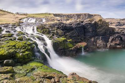 The Dunseverick Falls