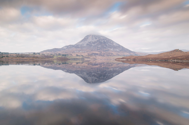 The mountain in the mirror