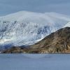 (198) Mountains and seabirds, Northern Labrador, Canada