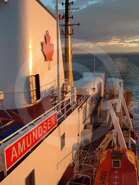 (94) The CCGS Amundsen