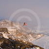 (330) The Amundsen's helicopter surveying the coastline