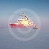 (341) CCGS Amundsen overwintering in the Beaufort Sea during the CFL program