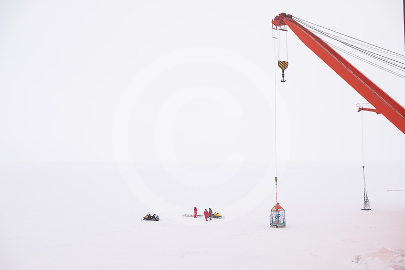 (2381) Scientists about to start surveying one of the potential MOSAiC ice floe