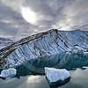(239) Glacier flowing into Makinson Inlet, Ellesmere Island, Nunavut