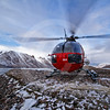 (238) ArcticNet scientists reach remote glaciers in Makinson Inlet, Ellesmere Island, Nunavut using the ship's helicopter