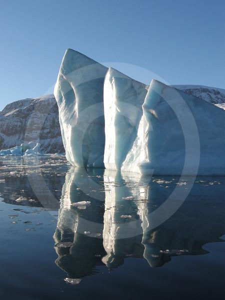 (151) Iceberg reflection