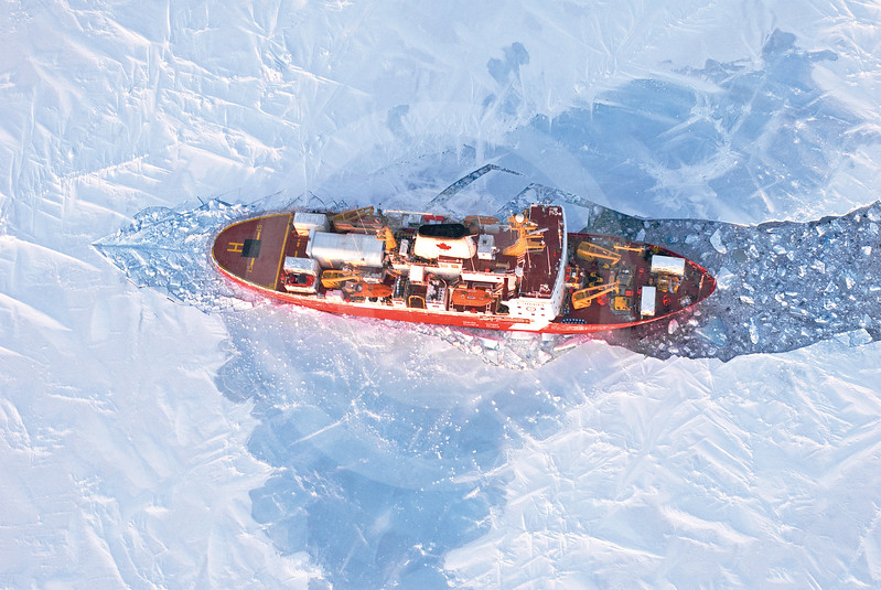 (331) The CCGS Amundsen awakening from its second historic overwintering