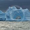 (258) Icebergs drifting pass the Carey Islands, Baffin Bay, Greenland