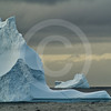 (259) Icebergs drifting pass the Carey Islands, Baffin Bay, Greenland