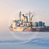 (339) CCGS Amundsen overwintering in the Beaufort Sea during the CFL program