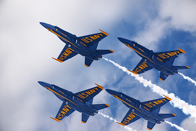 Blue Angels!, Amazing Formation Flying