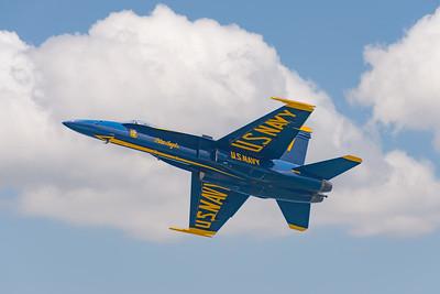 Blue Angels F/A18 Jet