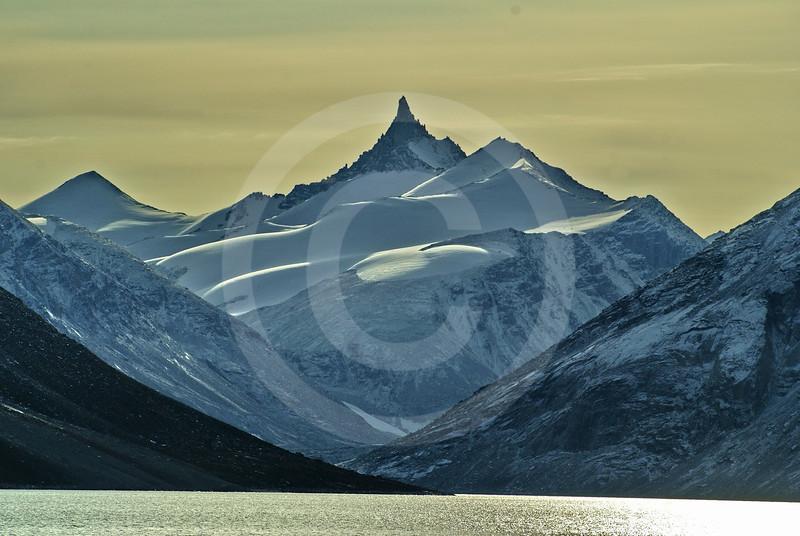 (265) Sailing in Gibbs Fjord, Baffin Island, Nunavut
