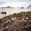(1043) Morning mist surrounding the island of Kulusuk, Greenland