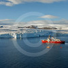 (164) CCGS Amundsen and launch vessels near Belcher glacier