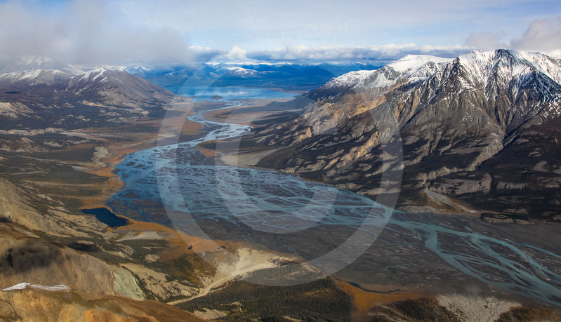 (720) St. Elias Mountain Range, Kluane National Park, Yukon