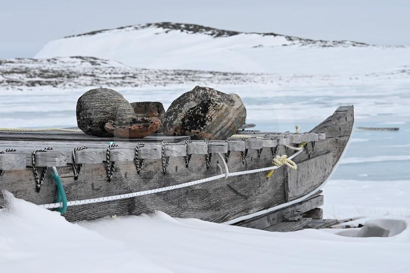 (2390) Qamutik in the snow