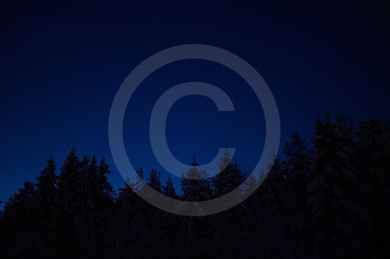 (2245) The magic blue light of the polar night.
