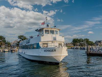 Fire Island- Saltaire Ferry boat Voyager