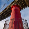 George Washington Bridge & Lighthouse