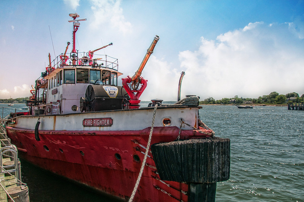 """Historic FDNY Fireboat """"Fire Fighter"""""""