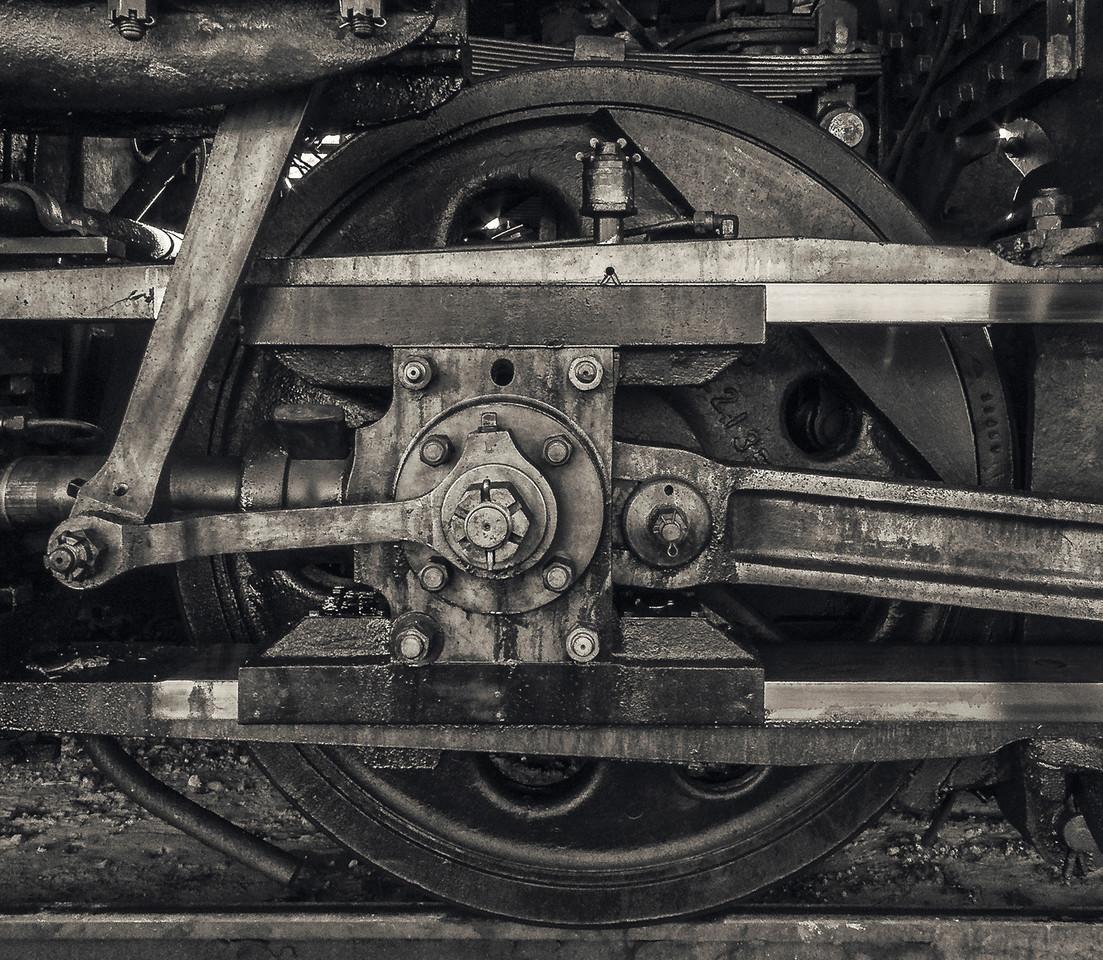 Big Wheels of the Essex Steam Locomotive