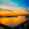Jones Beach Sunset Squared