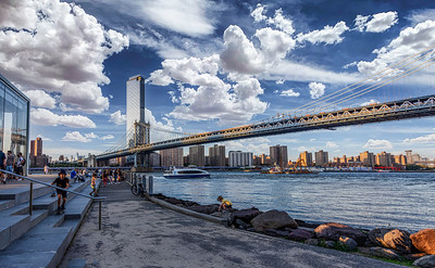 Manhattan Bridge Carousel Pano