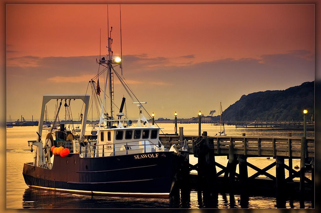 Seawolf Sunset