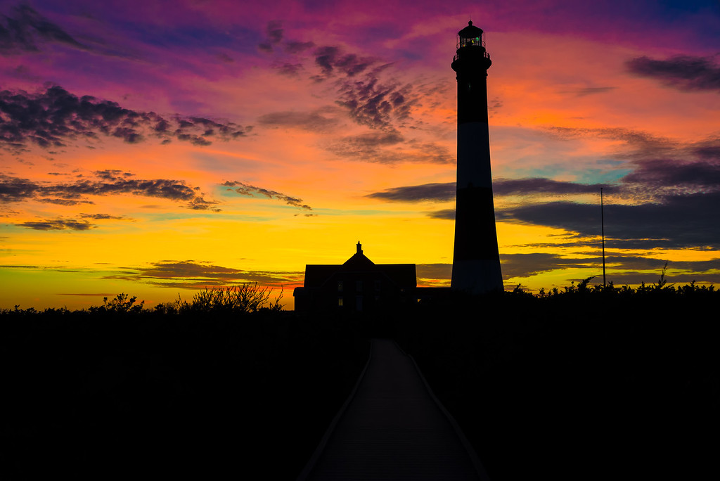 Lantern Night At The lighthouse