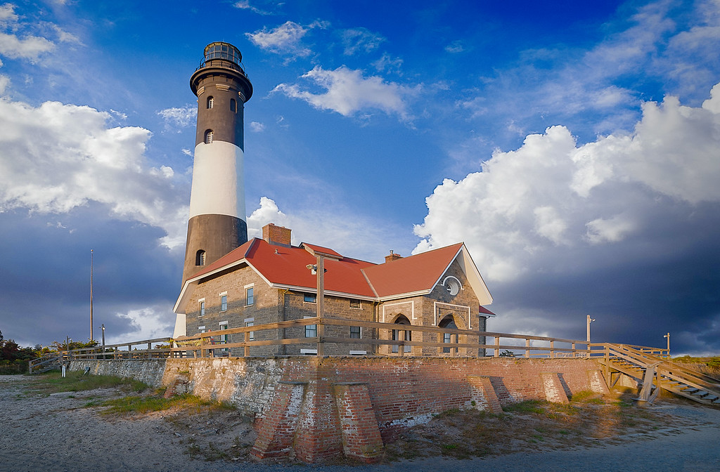 Glorious Fire Island Lighthouse
