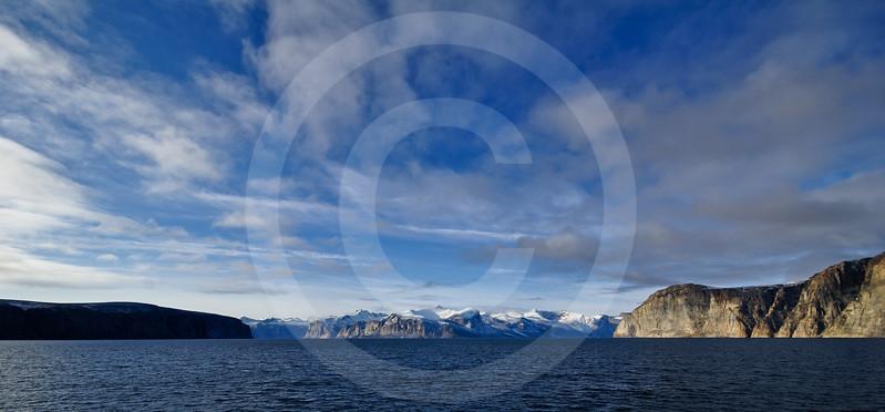 (263) The gates of the majestic Gibbs Fjord, Baffin Island, Nunavut