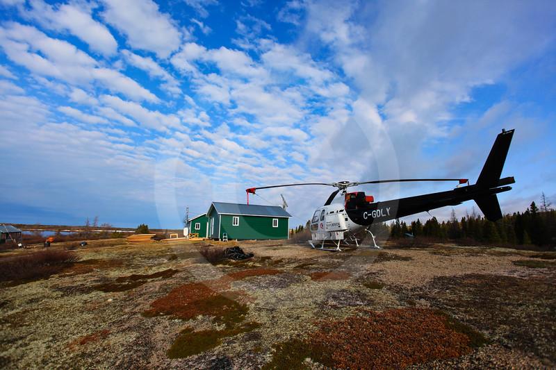 (665) Centre d'études nordiques' research station at Lac-à-l'Eau-Claire, Nunavik