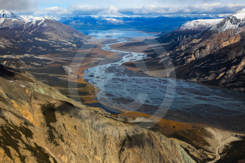 (722) St. Elias Mountain Range, Kluane National Park, Yukon